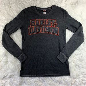 Harley Davidson Thermal Long Sleeve Top